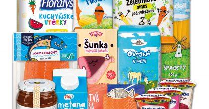 Obaly výrobků Lidlu navrhly děti