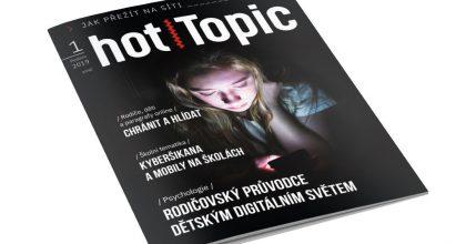 Vyšel nový magazín hotTopic, první číslo se věnuje bezpečnosti nasíti