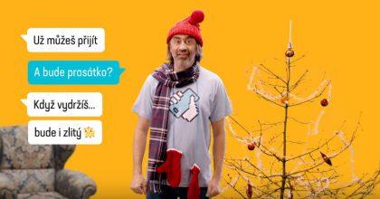 Kohák se vnové kampani  pro Mobil.cz svlékl