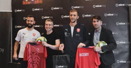 Niceboy je novým partnerem české fotbalové reprezentace