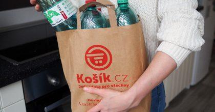 Košík.cz sMattoni testují zálohované PET lahve