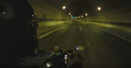 Harley Davidson vtunelu Blanka