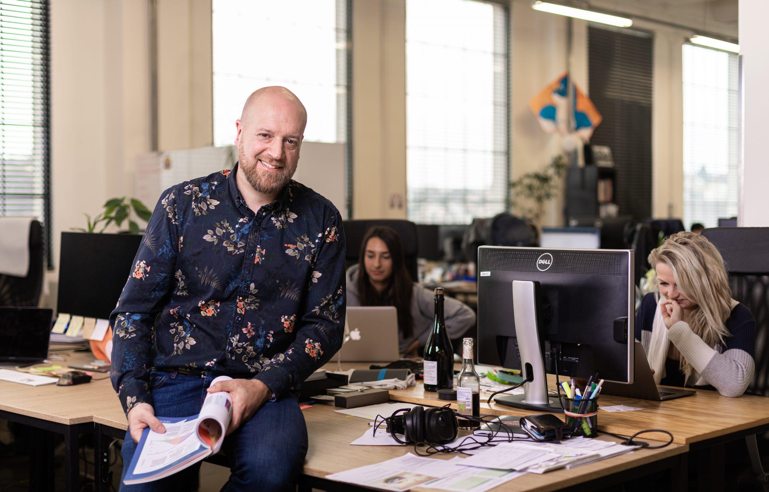 Nový šéf marketingového týmu Blueberry Ondřej Rudolf.