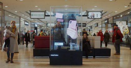 Síť holografických panelů se rozšiřuje naSlovensko
