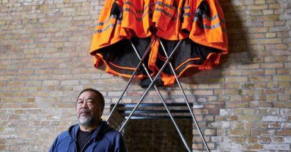 Aj Wej-wej prodává nové dílo vHornbachu