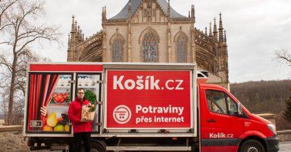 Košík.cz míří doPolabí, přiváží iPlnou péči