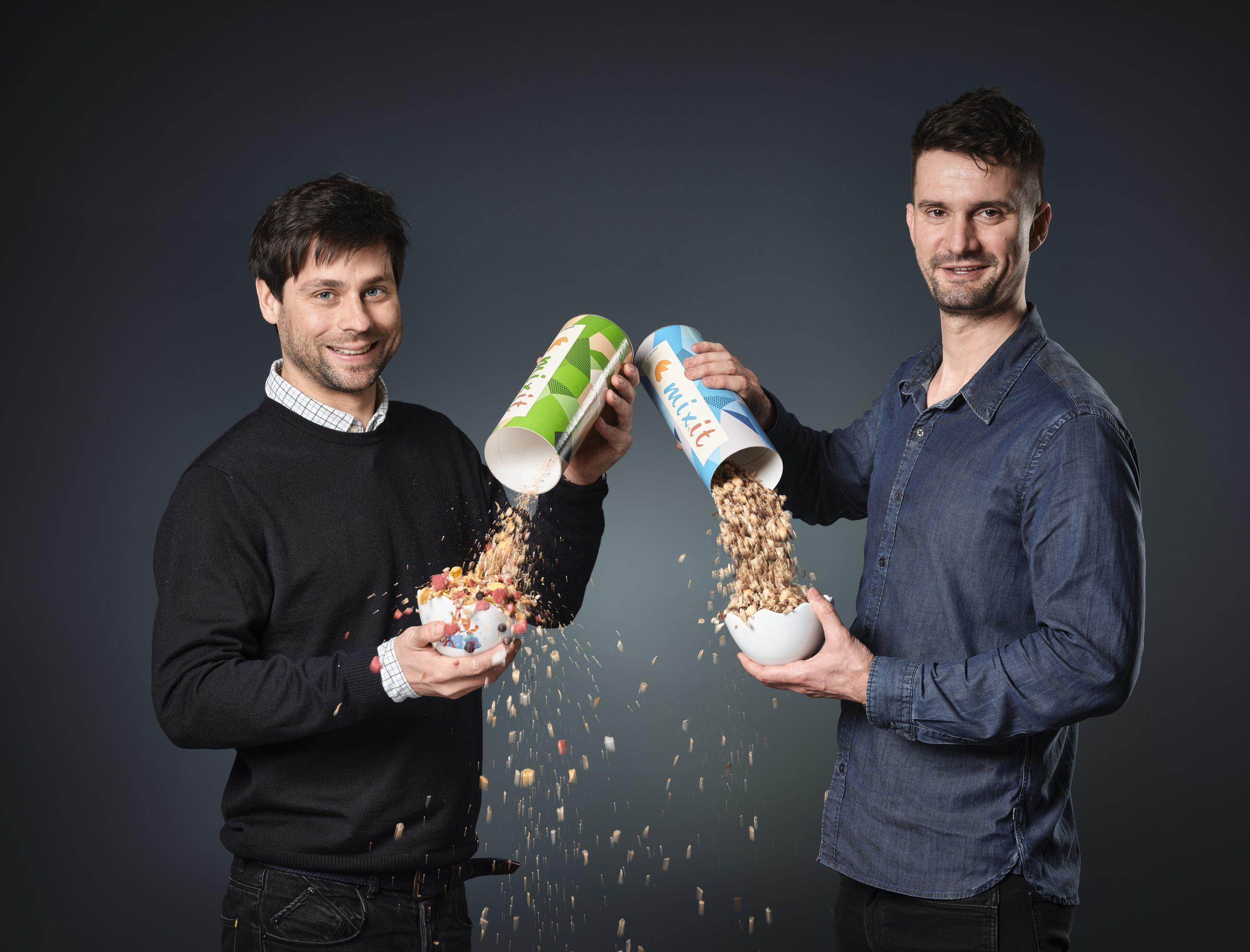 Martin Wallner (vpravo) a Tomáš Huber