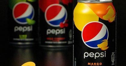 Pepsi uvádí další příchuť. Limetku avišeň doplní nově exotické mango