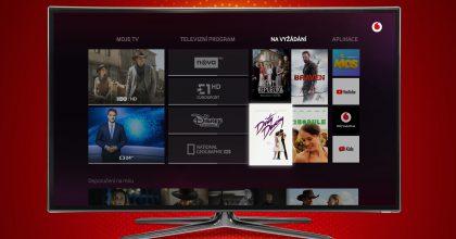 Vodafone spustil novou digitální televizi. Nabízí přes 130 programů