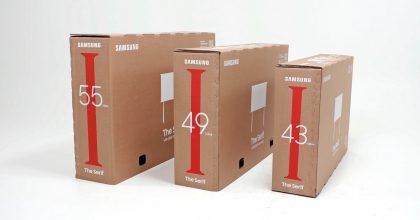 Samsung za životní prostředí. Firma představila recyklovaná balení pro TV