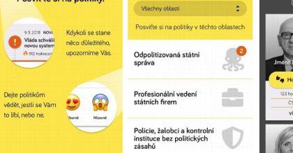 Nová aplikace má hlídat politiky. Zaměřuje se nadodržování demokracie
