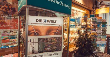 """V Německu má stát zachraňovat média. """"Musíme zaručit svobodu apluralitu"""""""
