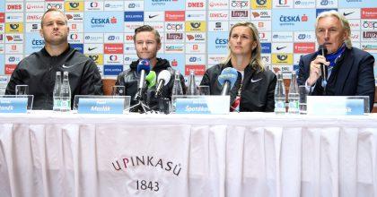 """Atleti zahajují sezonu. Akci """"Spolu nastartu"""" bude vysílat TV docelé Evropy"""