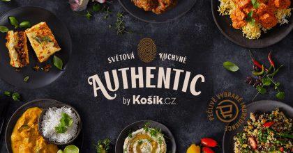 Košík.cz představil vlastní  značku Authentic. Sází nasvětové kuchaře