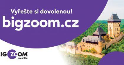 Portál BigZoom má konkurovat Slevomatu. Nabízí ubytování izážitky