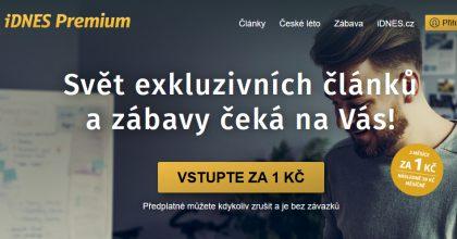 iDnes Premium má 50 tisíc předplatitelů, uvedlo vydavatelství Mafra