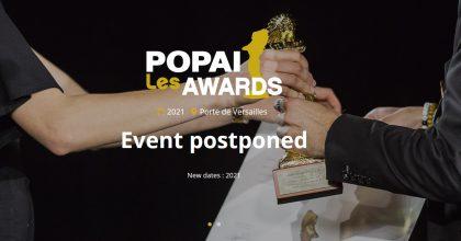 POPAI Awards se letos ruší. Marketingová soutěž ustoupila epidemii