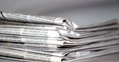 Propad deníků se vkvětnu ustálil. Nejprodávanější zůstává Blesk, rostl Sport