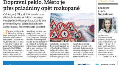 Náš REGION Brno. Vydavatelství A11 rozšiřuje portfolio lokálních titulů