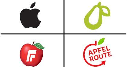 Apple se opět bouří kvůli logu. Za hrušku hrozí firmě soudem