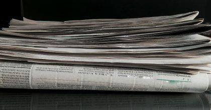 Tisk se ještě nevzdává. Noviny čte pravidelně 16% lidí