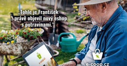 COOP rozjíždí vlastní online prodej potravin: ipro lidi zmenších měst avesnic