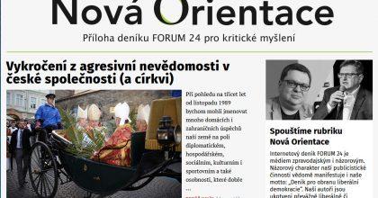 """Náhrada za """"Babišovu"""" Orientaci. Forum24 spouští rubrikou Nová Orientace"""