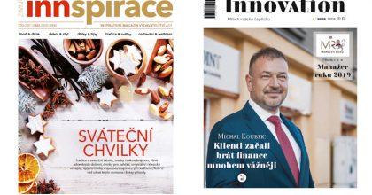 Lifestylová Innspirace amanažerský Innovation. A11 vydává nové tituly