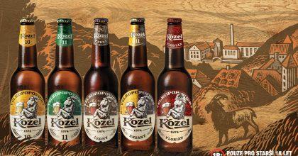 Velkopopovický Kozel modernizuje design svých produktů. Mění irecepturu