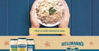 Hellmann's vkampani upozorňuje naplýtvání potravinami