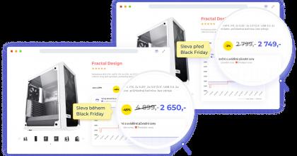 Hlídač Shopů chrání před falešnými Black Friday slevami, nově hlídá e-shopy inaSlovensku