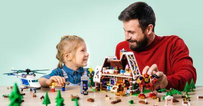 Pohádková vánoční kampaň značky LEGO® podpoří kreativitu aspolečné hraní