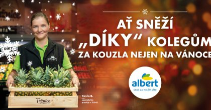 Albert spustil děkovnou kampaň pro zaměstnance