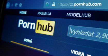 Od Pornhubu se odvrátily Visa iMastercard. Server přijímá platby pouze vkryptoměnách