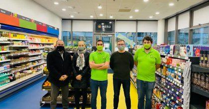 Žabka otevřela první prodejnu vadministrativní budově