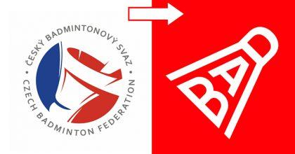 """Badmintonový svaz snovou vizuální identitou. Motivem je heslo """"Bad"""""""