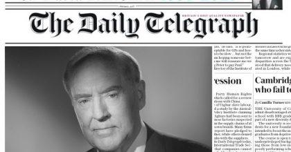 Zemřel David Barclay, spolumajitel mediální skupiny Telegraph