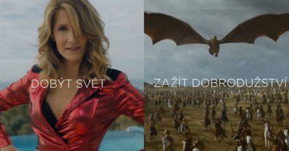 Váš rok 2020? Motionlab vytvořil personalizovaná videa zútržků seriálů HBO