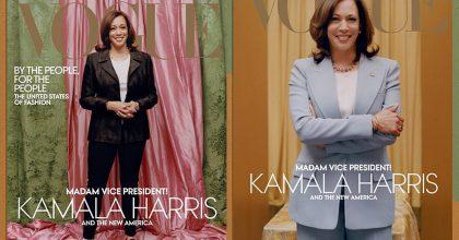 Vogue to schytal kvůli obálce. Viceprezidentka má naní příliš světlou pleť