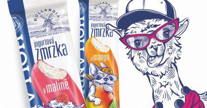 """Hollandia představí novou komunikaci zmrzlin: """"Jogurt tak dobrej, až ztoho mrazí"""""""