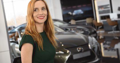 Návrhář Černý aherečka Vagnerová jsou novými ambasadory značky Lexus