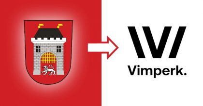 Vimperk má nové logo avizuální identitu. Odkazuje naknižní tradici