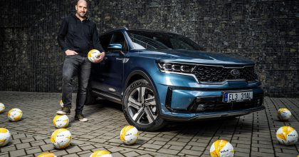 Fotbalová legenda Jan Koller je novým ambasadorem značky Kia