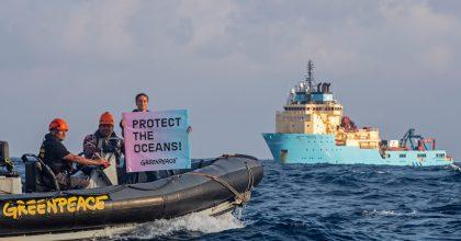 Greenpeace digitální plavbou kolem světa shání podporu pro ochranu oceánů