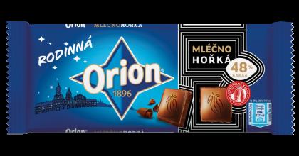 Nová řada Orion Rodinná má větší gramáž audržitelné kakao