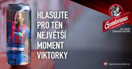 Viktorie Plzeň oslavuje sGambrinusem aagenturou Triad 110.výročí