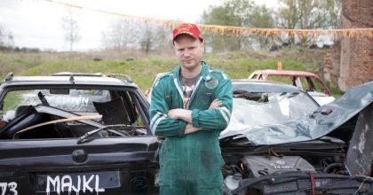 Automobilist aPavel Turek ambasadory nové komedie Grand Prix sKryštofem Hádkem