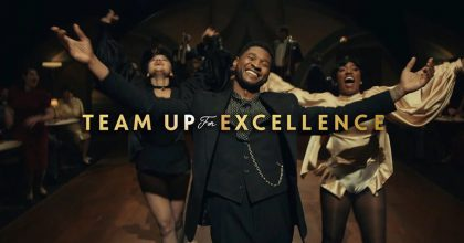 Usher aRémy vzkazují: #TeamUpForExcellence! Aje naco se dívat.