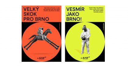 Vesmír jako Brno! SAB Aerospace má novou firemní identitu