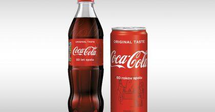 Coca-Cola spouští kampaň naoslavu pěti dekád načeském aslovenském trhu
